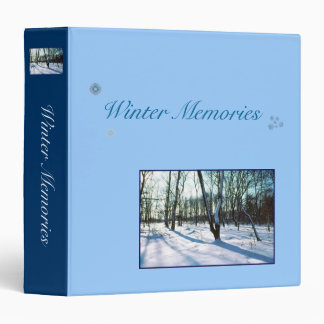 Winter Memories Binder Album
