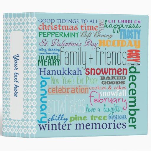 Winter Memories Photo Binder