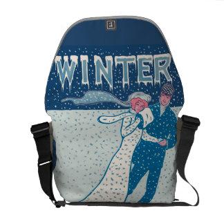 Winter Messenger Bag