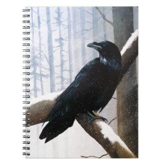 Winter Messenger Notebook