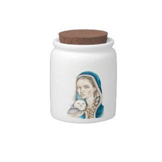 Winter Messengers Candy Jars