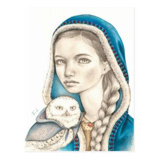 Winter Messengers Postcard