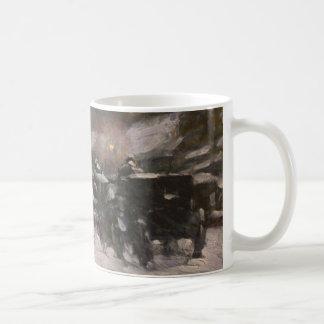 Winter, Midnight - Childe Hassam Classic White Coffee Mug