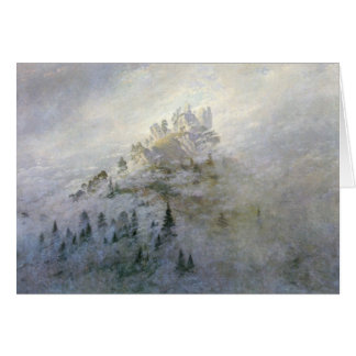 Winter Mist on the Mountains 1808 Card