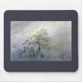 Winter Mist on the Mountains 1808 Mouse Pad