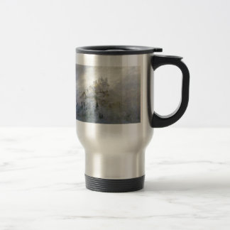 Winter Mist on the Mountains 1808 15 Oz Stainless Steel Travel Mug