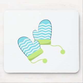 Winter Mittens Mouse Pad