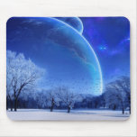 Winter Moon Mouse Pads