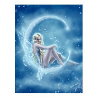 Winter Moon Postcard