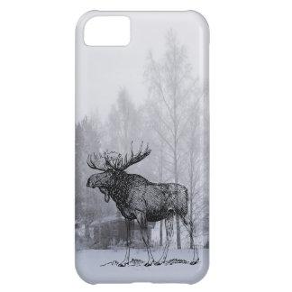 Winter Moose iPhone 5C Cover