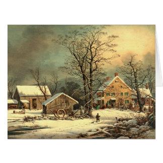 Winter Morning 1863 Card