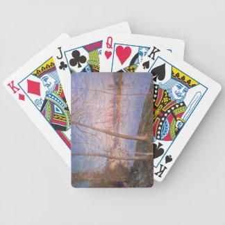Winter Morning 1878 Poker Deck
