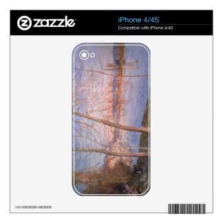 Winter Morning, 1878 Skin For iPhone 4