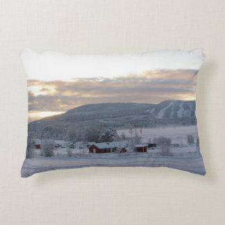 Winter Morning #1 Accent Pillow