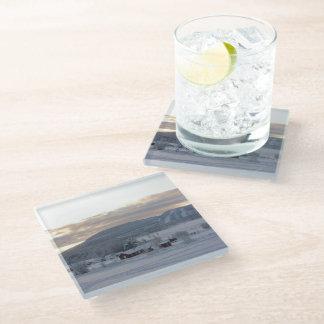 Winter Morning #1 Glass Coaster