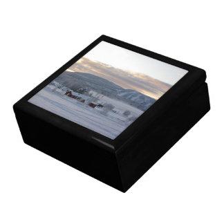 Winter Morning #1 Keepsake Box