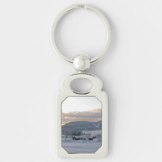 Winter Morning #1 Keychain