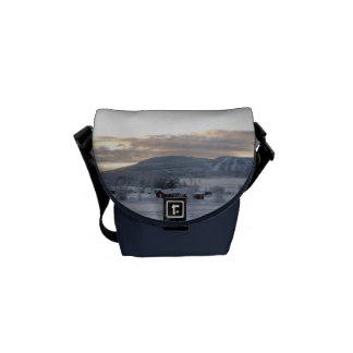 Winter Morning #1 Messenger Bag