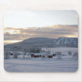 Winter Morning #1 Mouse Pad