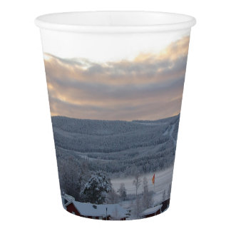 Winter Morning #1 Paper Cup
