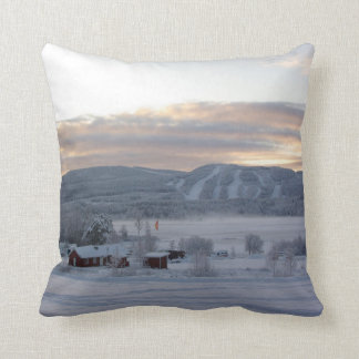 Winter Morning #1 Throw Pillow