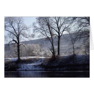 winter morning card