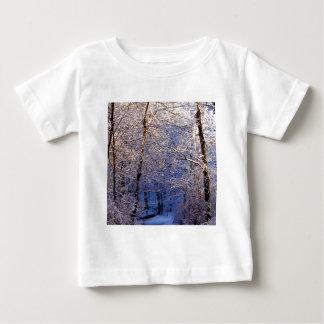 Winter Morning Light Falls Trail Nashville Baby T-Shirt