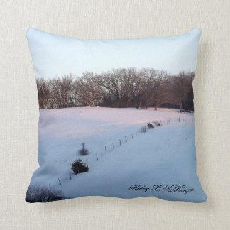 'Winter Morning' Pillow