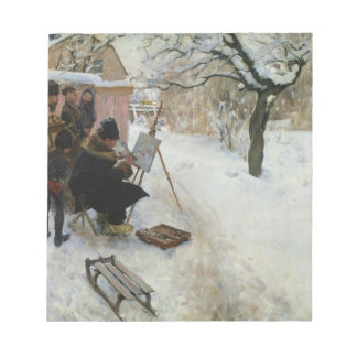 Winter Motif Åsögatan Notepad