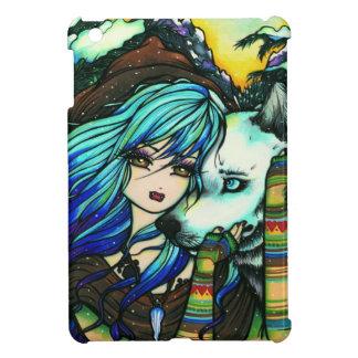Winter Mountain Snow Vampire Wolf Girl Fantasy Art Case For The iPad Mini