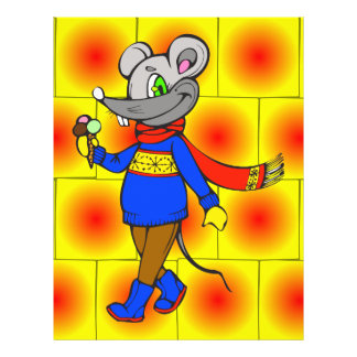 Winter Mouse Full Color Flyer