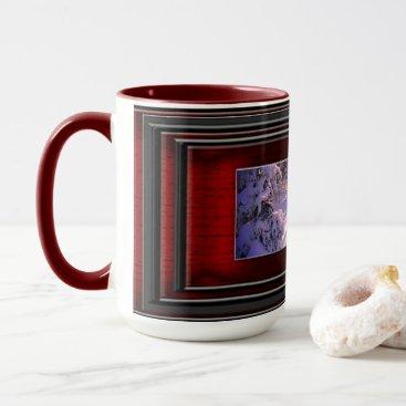 Beach Themed Winter Mug