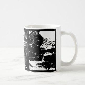 Winter mug. Black and white triptych Coffee Mug