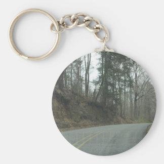 Winter Natchez Trace Parkway MS Key Chains