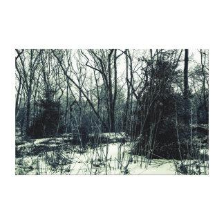 Winter Nature Landscape Canvas Print