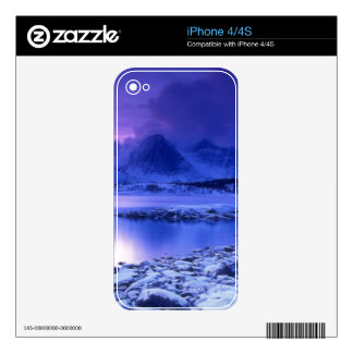 Winter nature Scene Decals For iPhone 4S