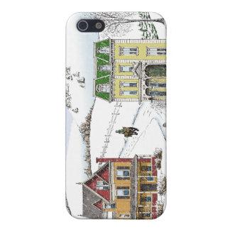Winter Neighborhood Case For iPhone 5