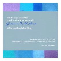 Winter nepal Bachelor Party Invitation