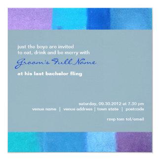 """Winter nepal Bachelor Party Invitation 5.25"""" Square Invitation Card"""