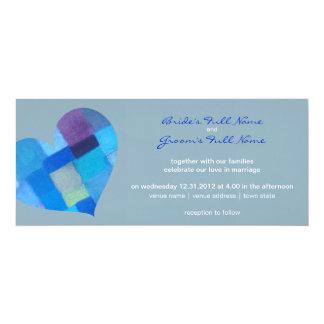 "Winter nepal Wedding Invitation 4"" X 9.25"" Invitation Card"