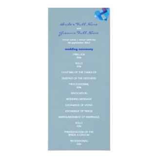 "Winter nepal Wedding Program 4"" X 9.25"" Invitation Card"