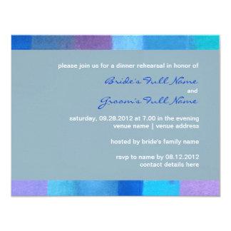 "Winter nepal Wedding Rehearsal Dinner Invitation 4.25"" X 5.5"" Invitation Card"