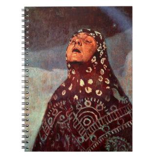 Winter Night 1920 Spiral Notebook