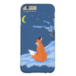 Winter Night Fox Barely There iPhone 6 Case