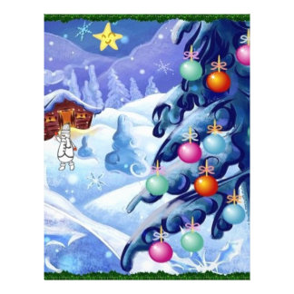 winter night letterhead