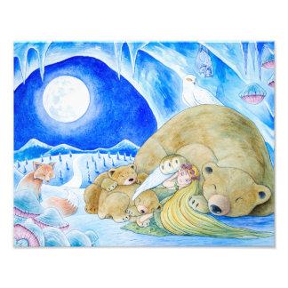 """Winter Night"" Photographic Print"