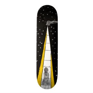Winter Night Walk Skateboard Deck