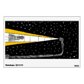 Winter Night Walk Wall Sticker