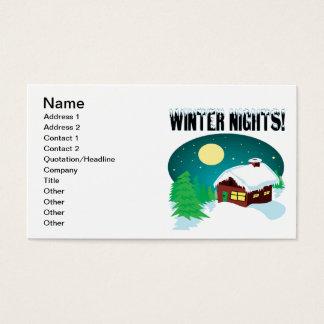 Winter Nights 2 Business Card