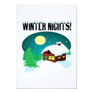 Winter Nights 2 Card